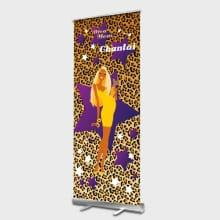 Diva Mom Roll up Banner