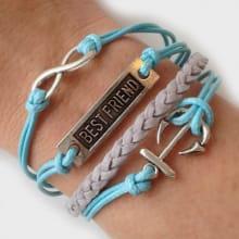 Armband Mom to Be Blue