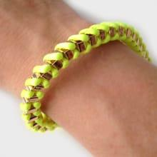 Armband Fun Mom Yellow