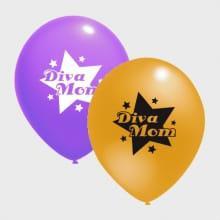 Ballonnen Diva Mom