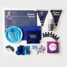 Tafelaankleding en versiering Power Blauw