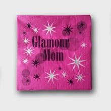 Servetten Glamour Mom Pink
