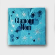 Servetten Glamour Mom Blue